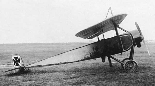Captured Morane-Saulnier Type L