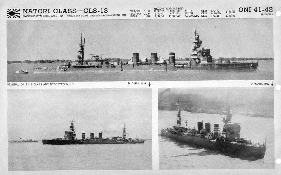 Japanese cruiser Natori photos