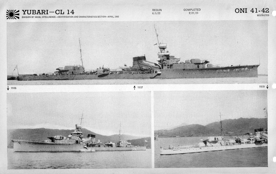 Cruiser Yubari photos
