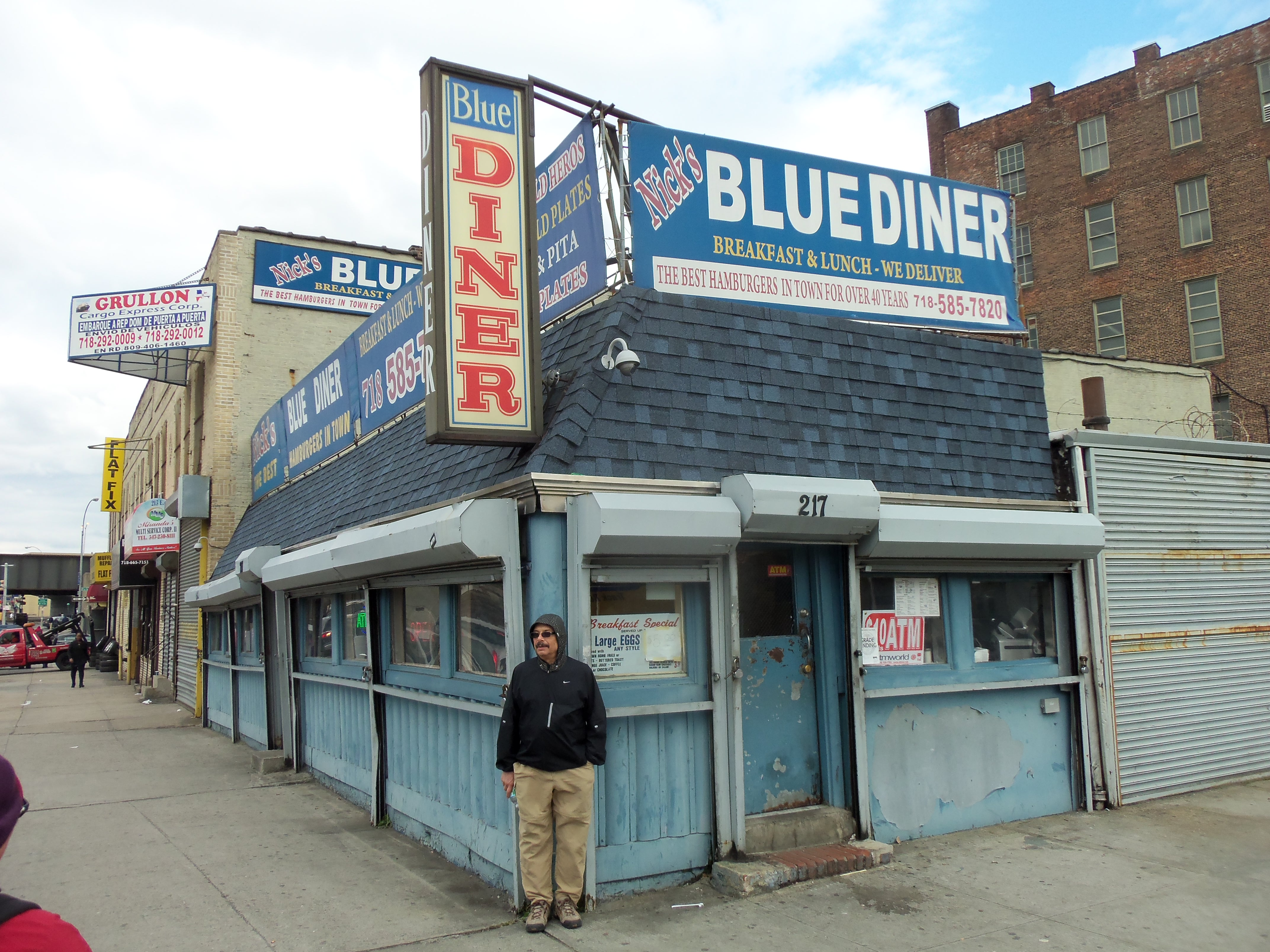 Blue Diner, E. 138th Street