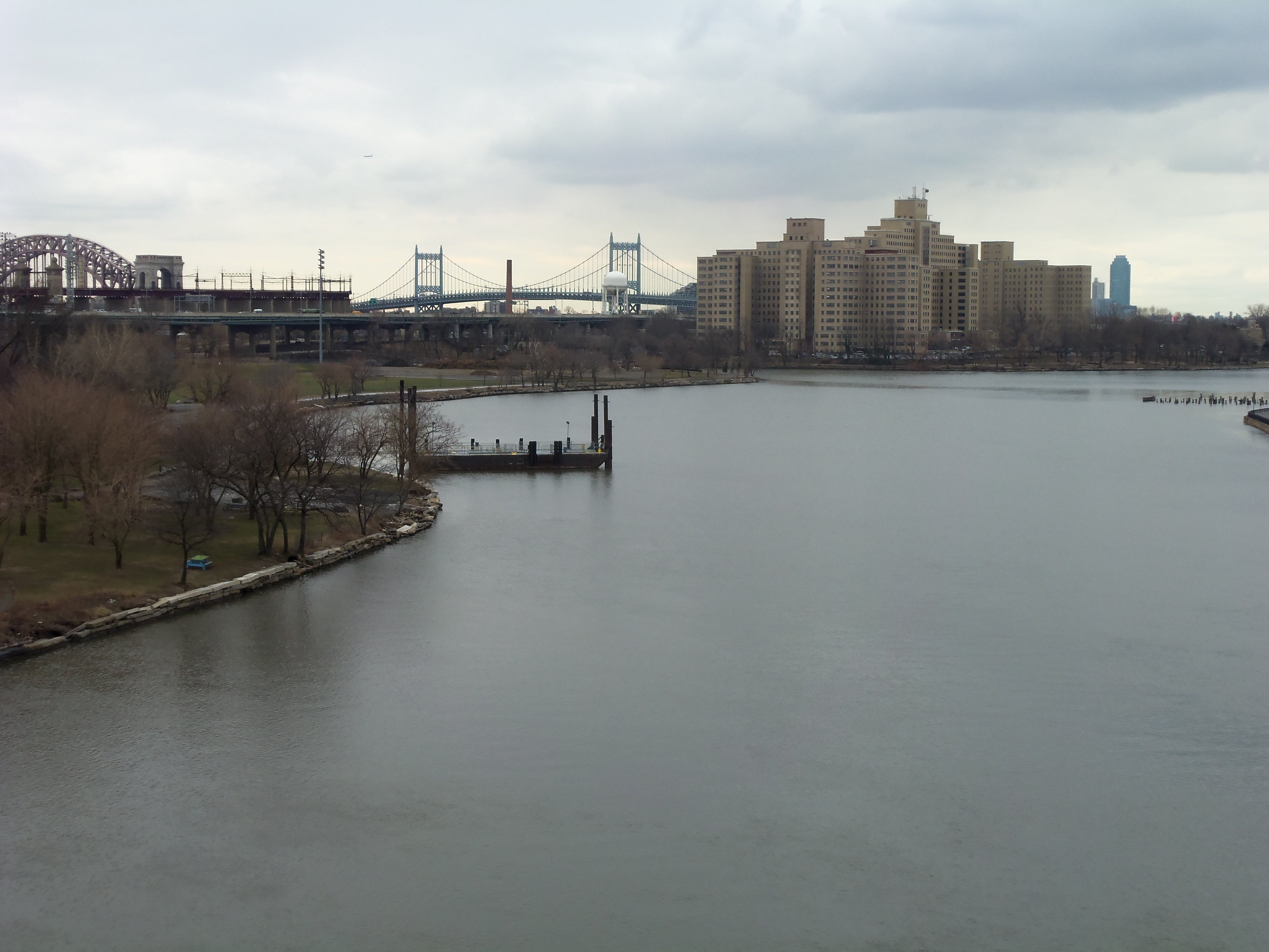 East River and Randalls Island