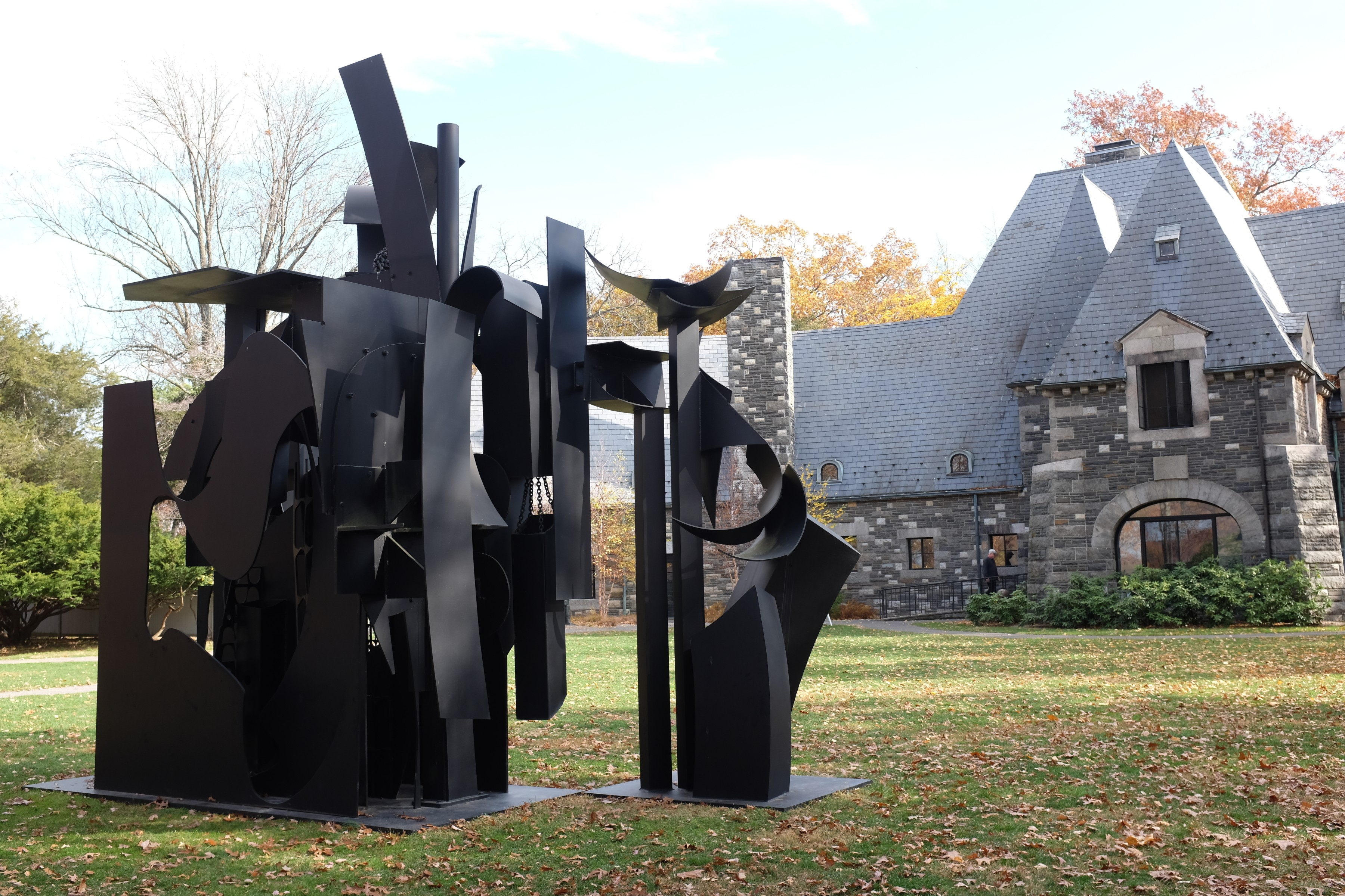 City on a High Mountain, sculpture by Louise Nevelson