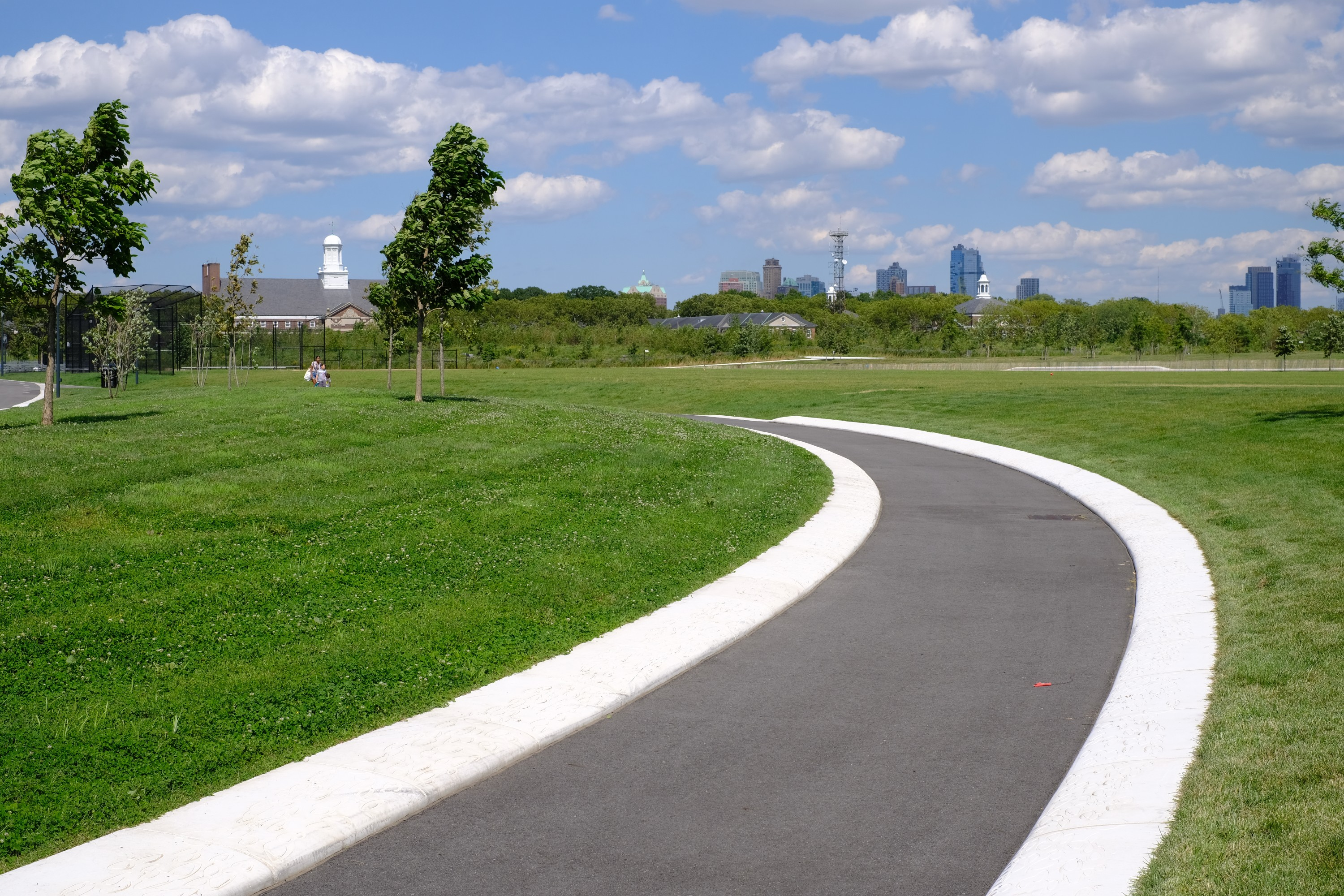 paths on Governors Island