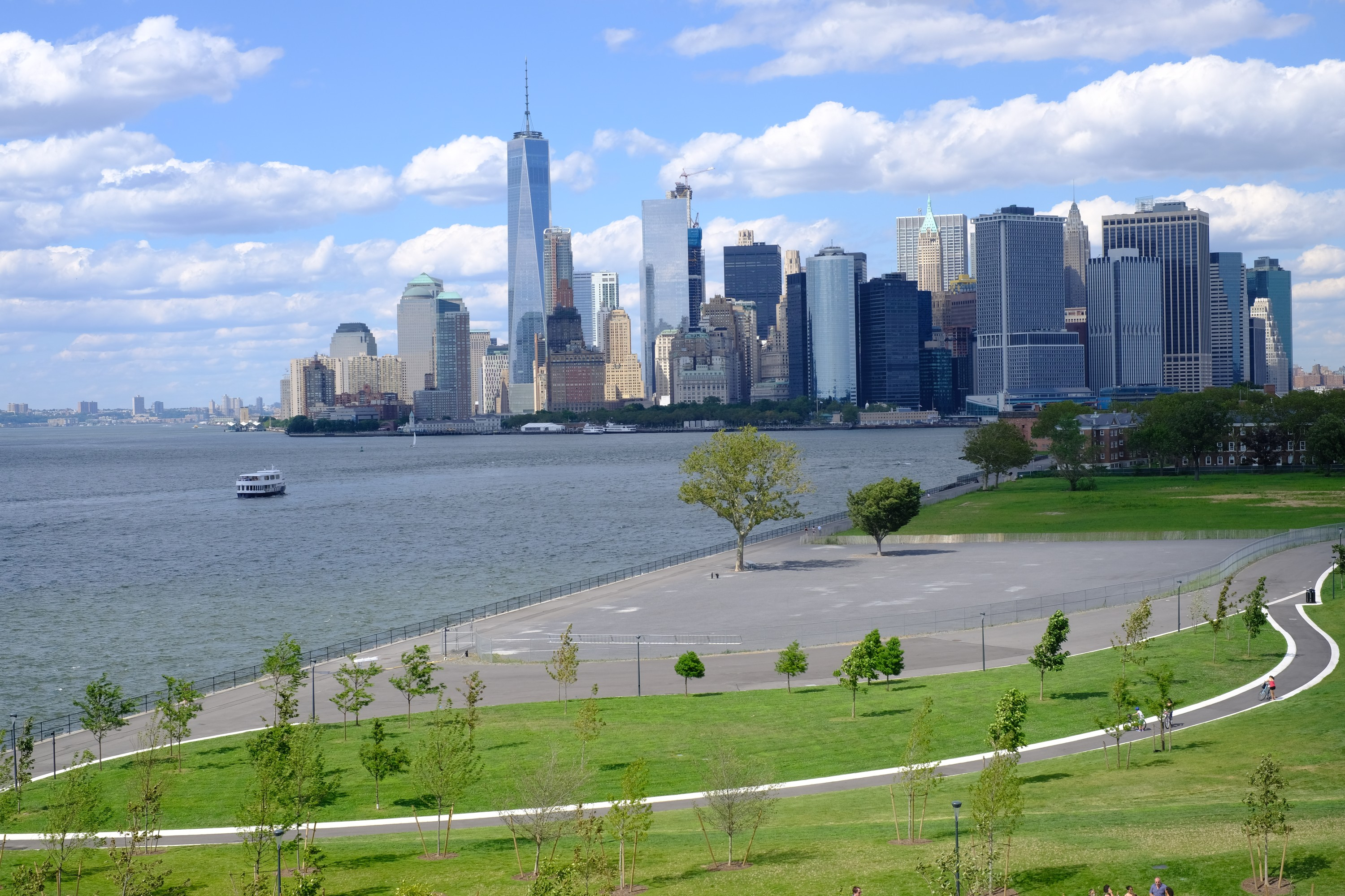 Downtown Manhattan from Governors Island