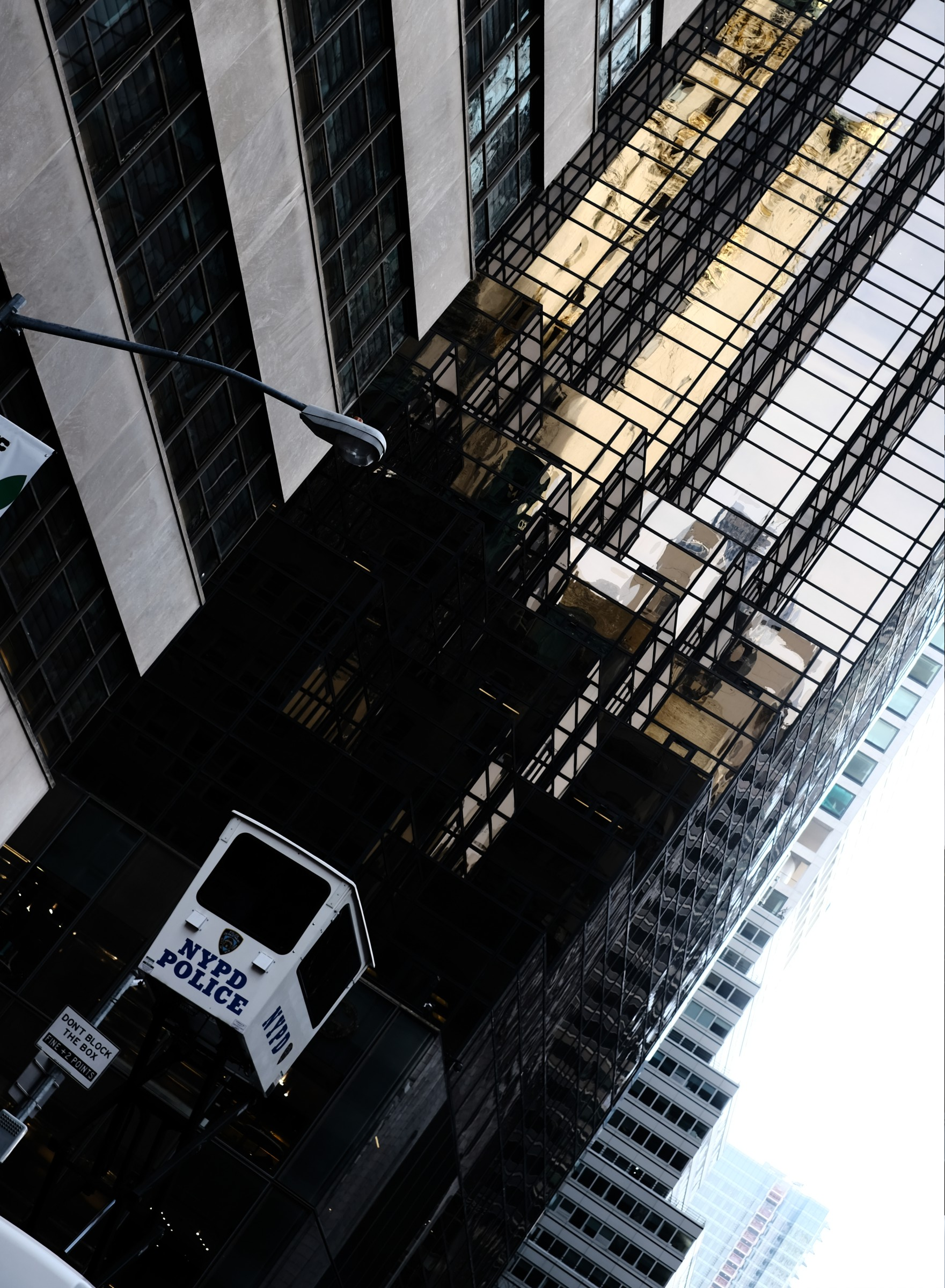 NYPD spy platform at Trump Tower