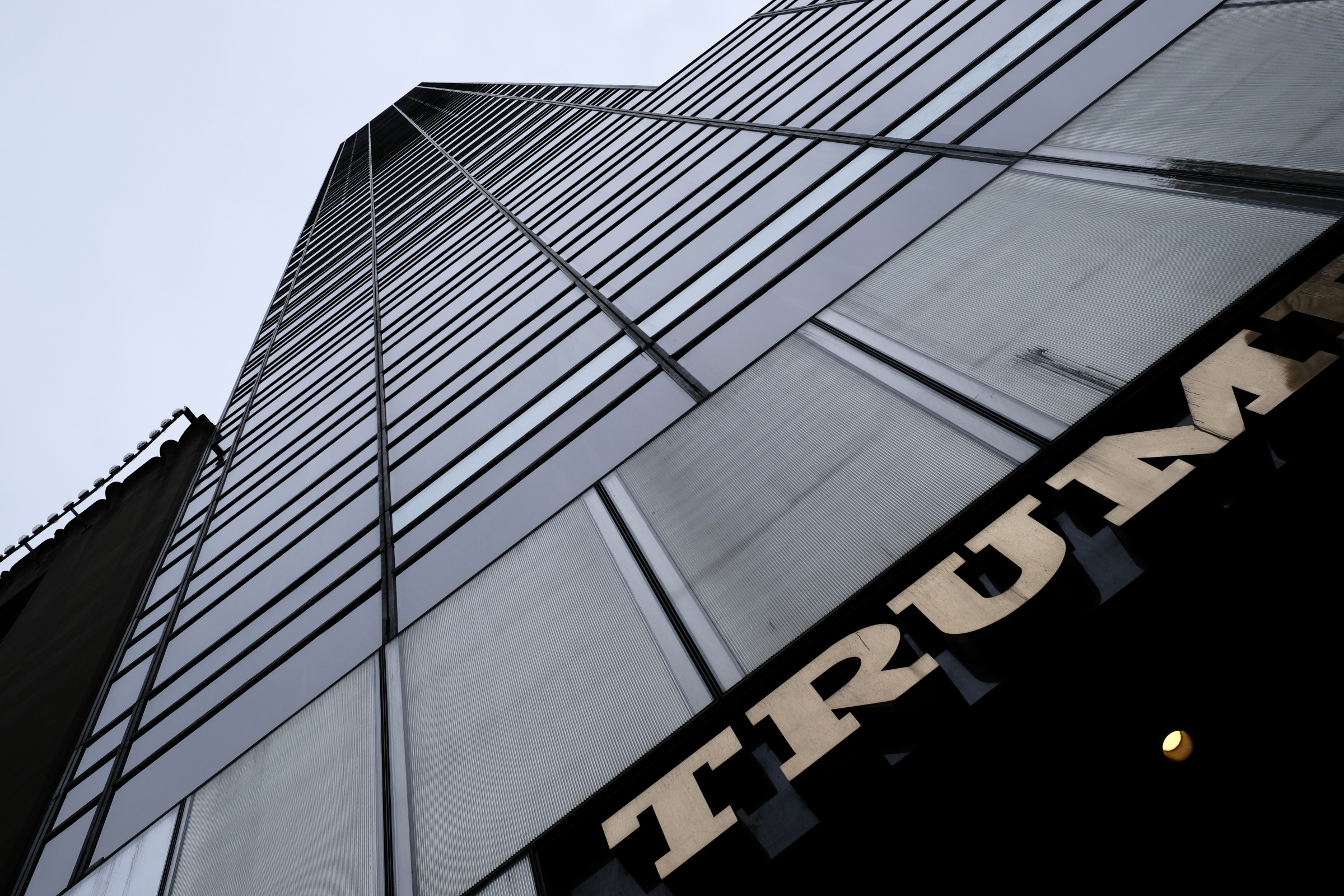 perspective view of Trump Tower