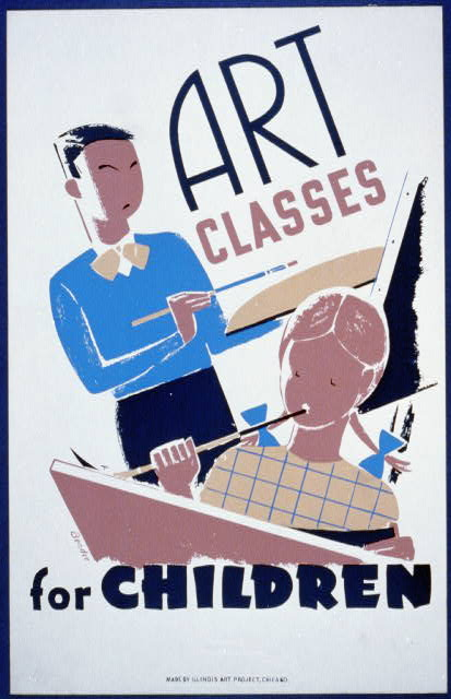 adult education art classes chicago