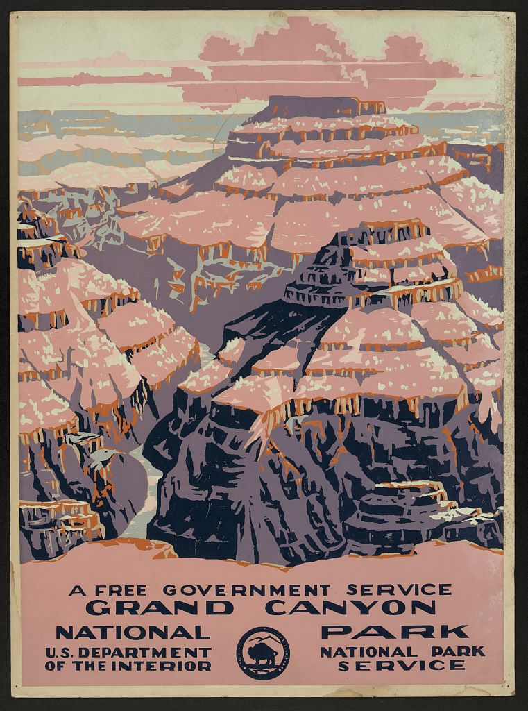 Wpa Posters For The National Parks