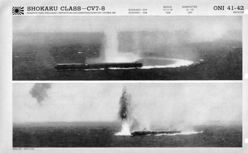 Japanese carrier Shokaku photos