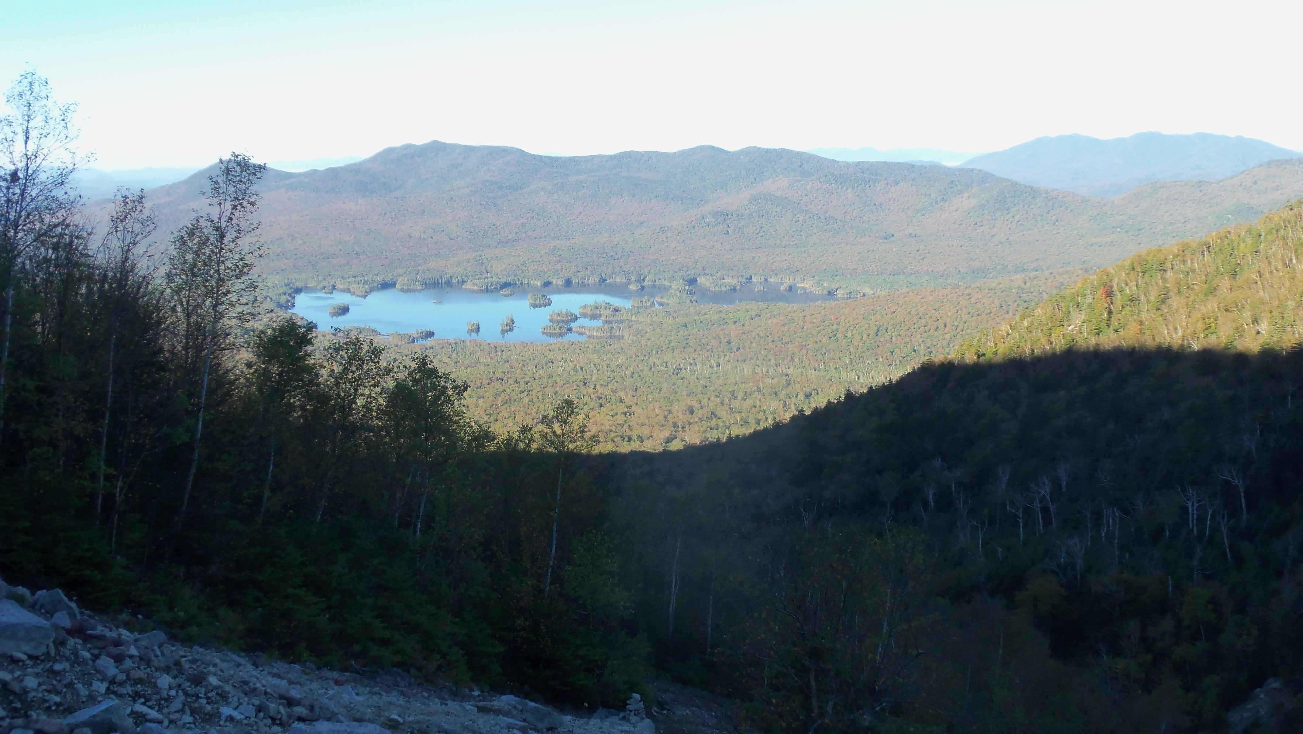 Elk Lake from Macomb Slide