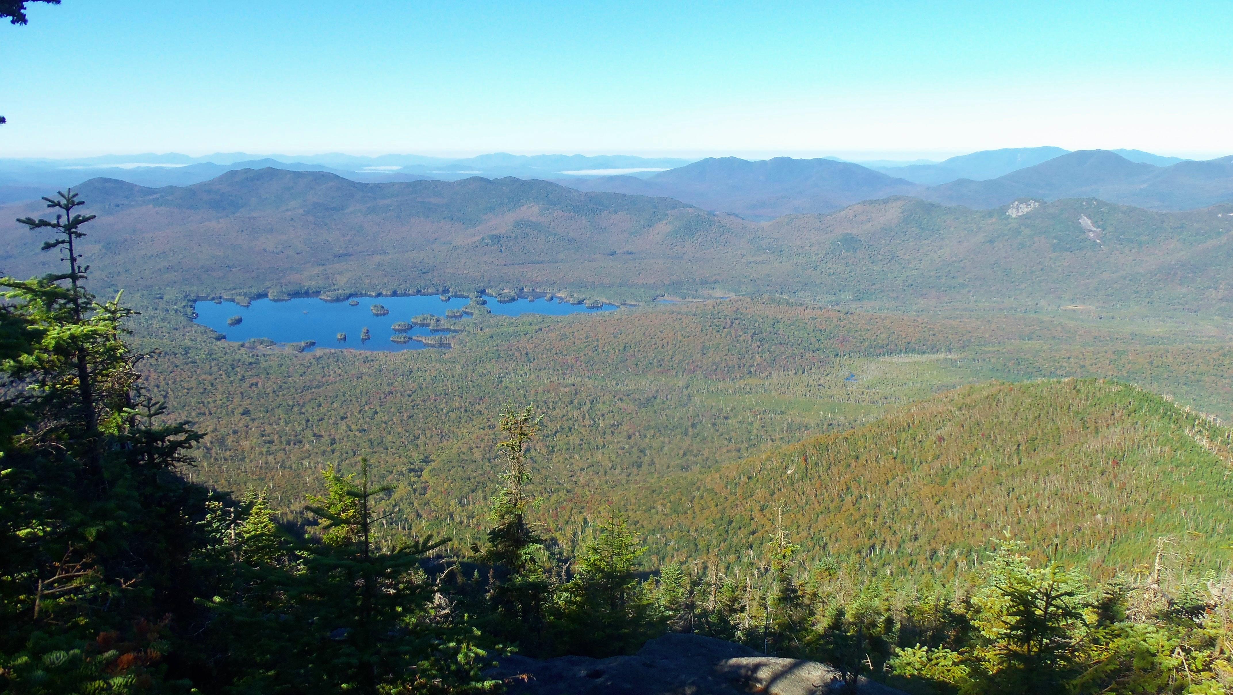 Elk Lake from Macomb peak
