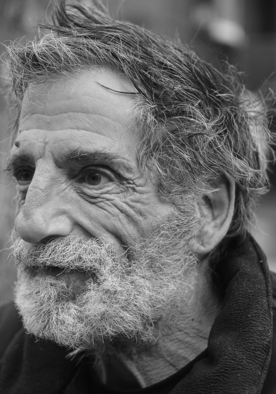 homeless guy on Gun Hill Road