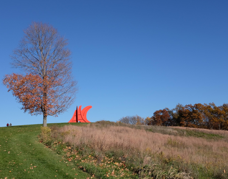 Five Swords, sculpture by Alexander Calder