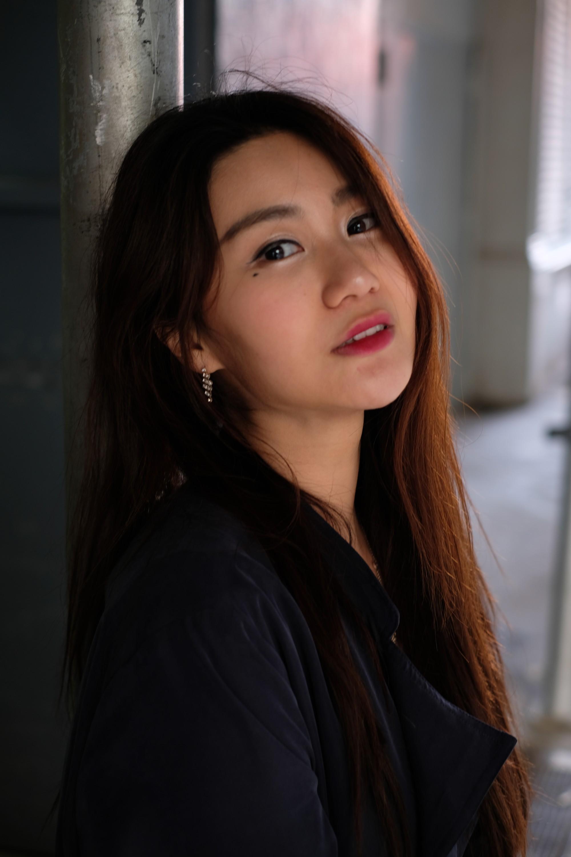 portrait of beautiful Chinese girl