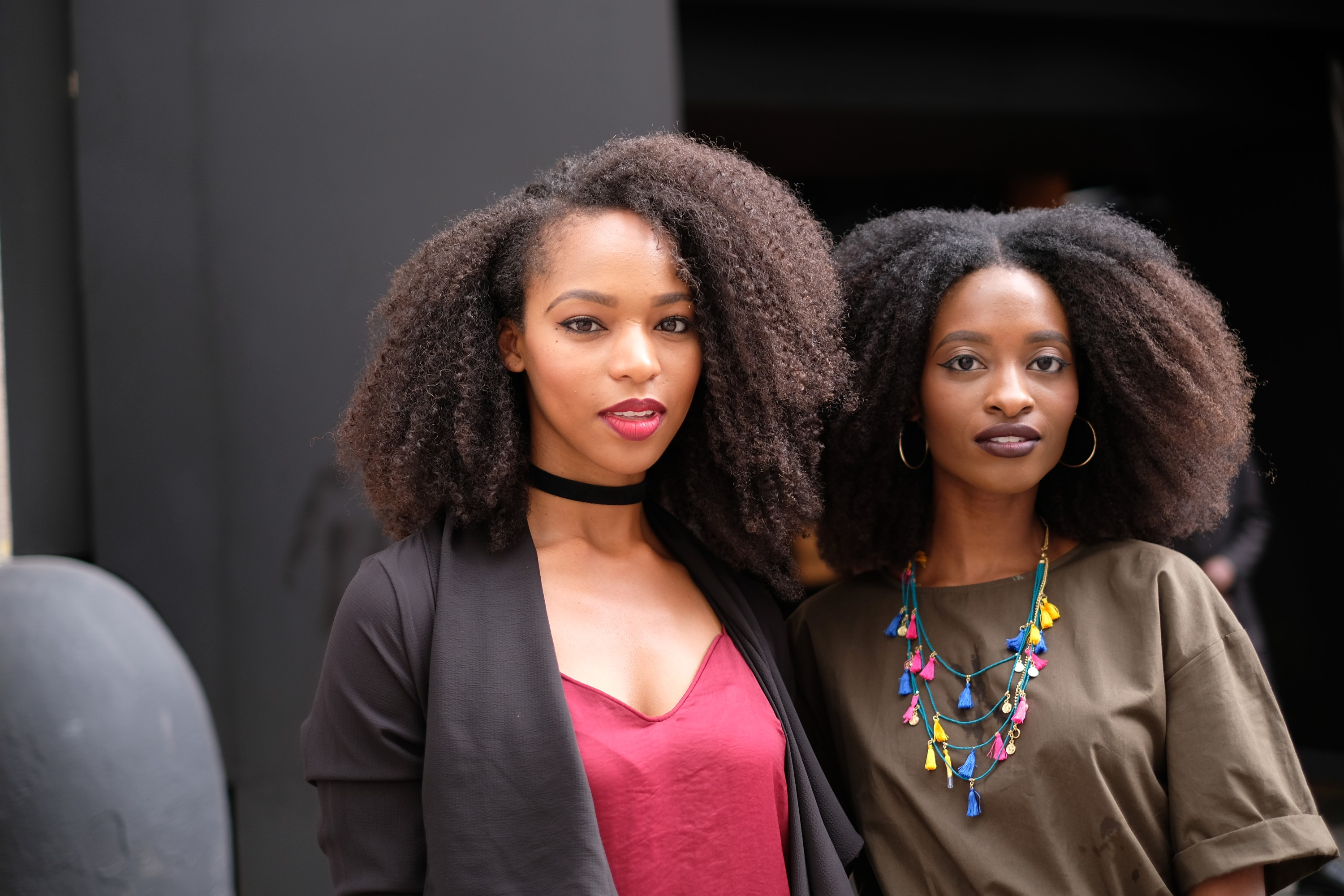 two Afros