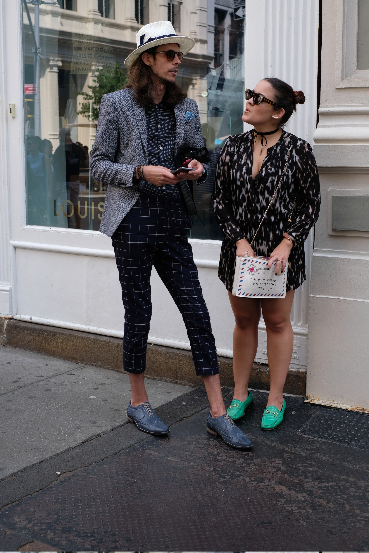 two fashionistas