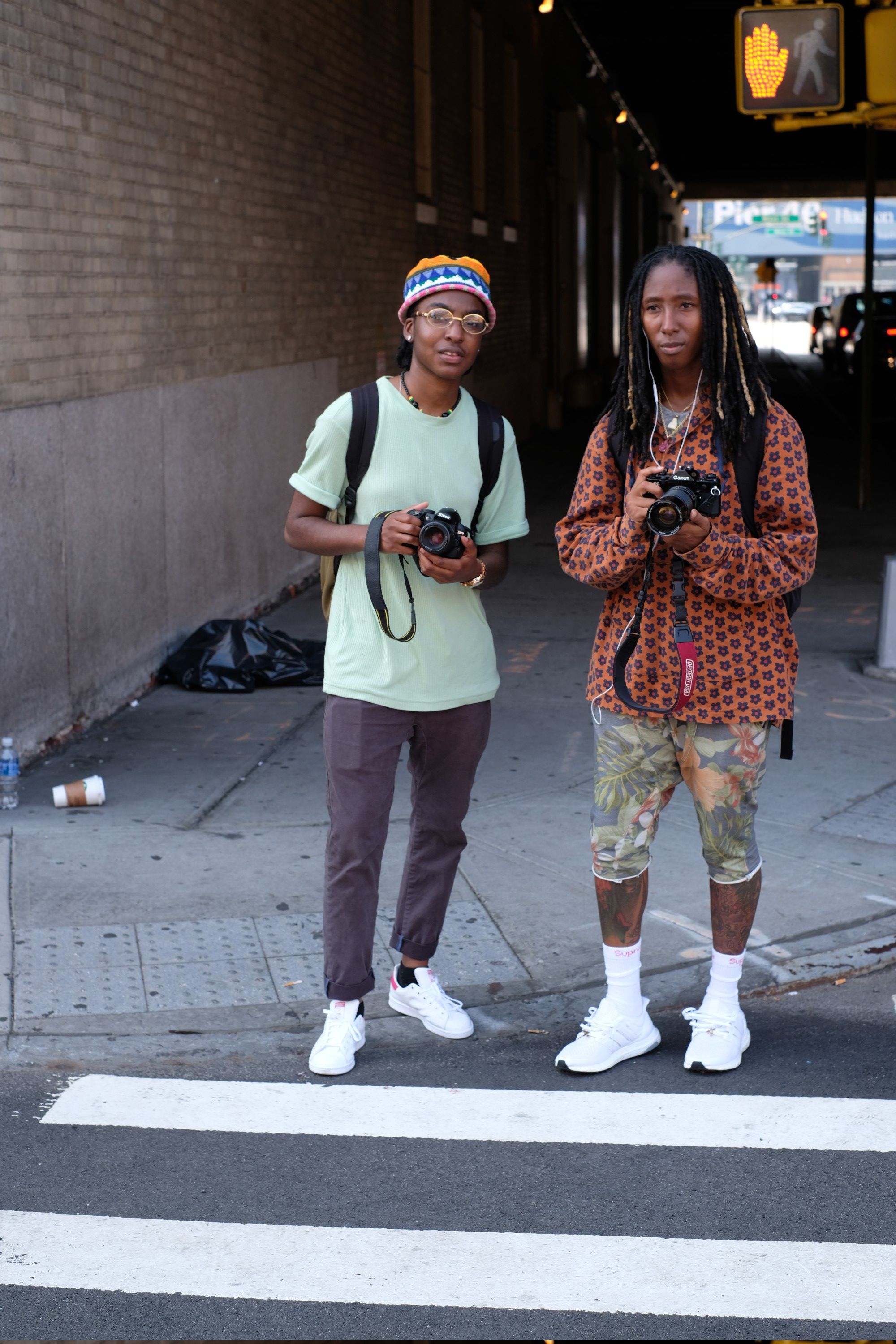 two young street photographers