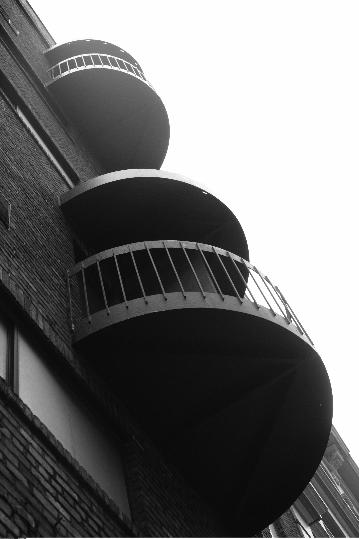 Balconies in Greenwich Village
