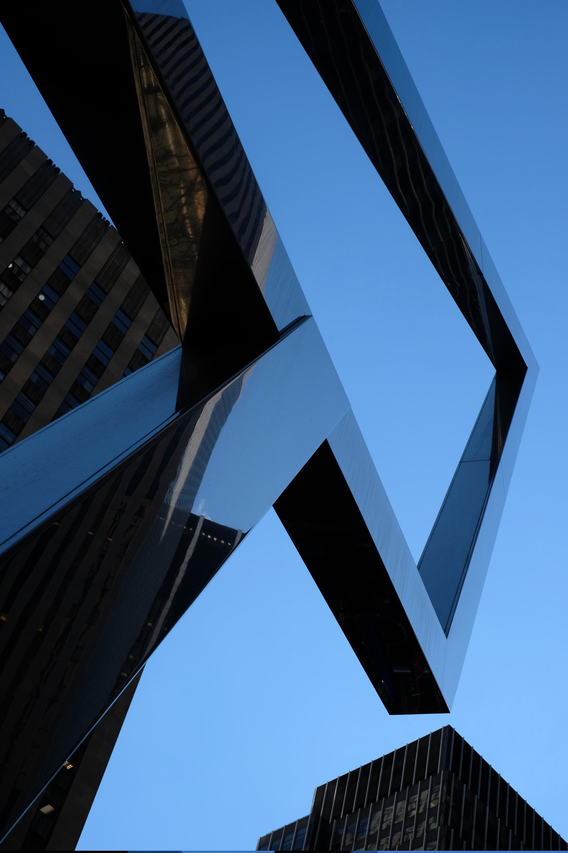 Sun Triangle Sculpture by Spilhaus
