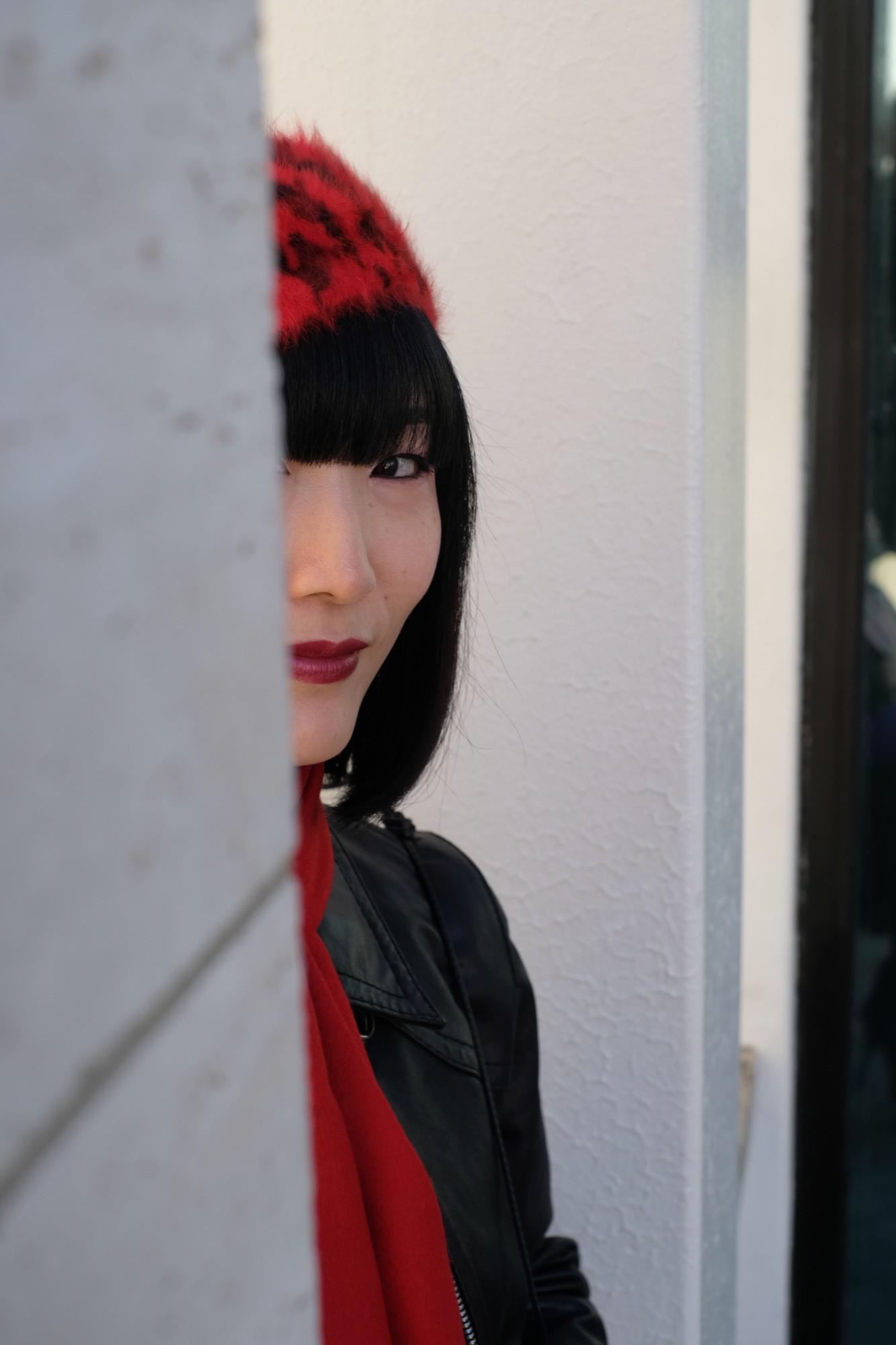japanese girl at Lincoln Center