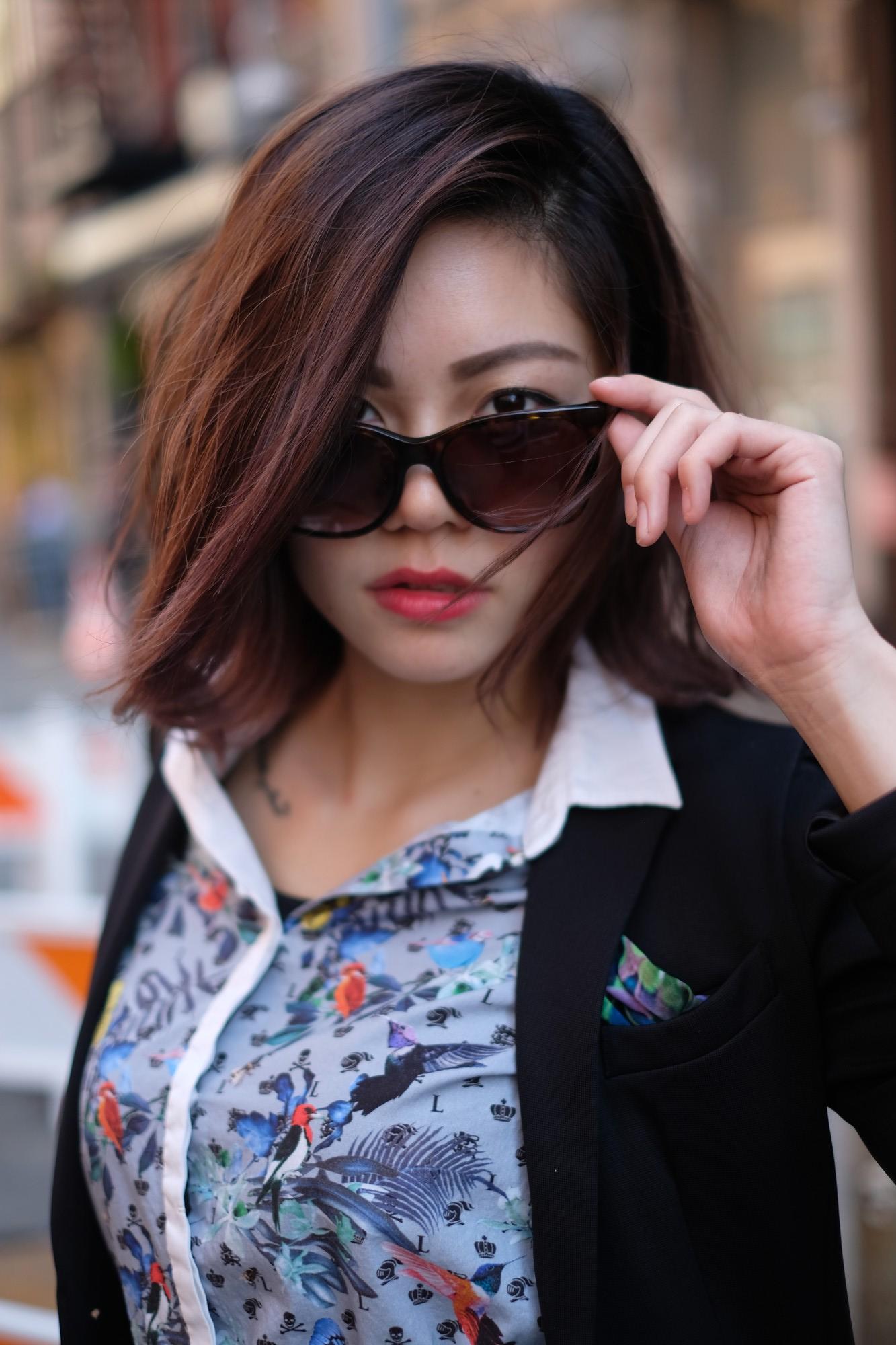 japanese girl in sunglasses